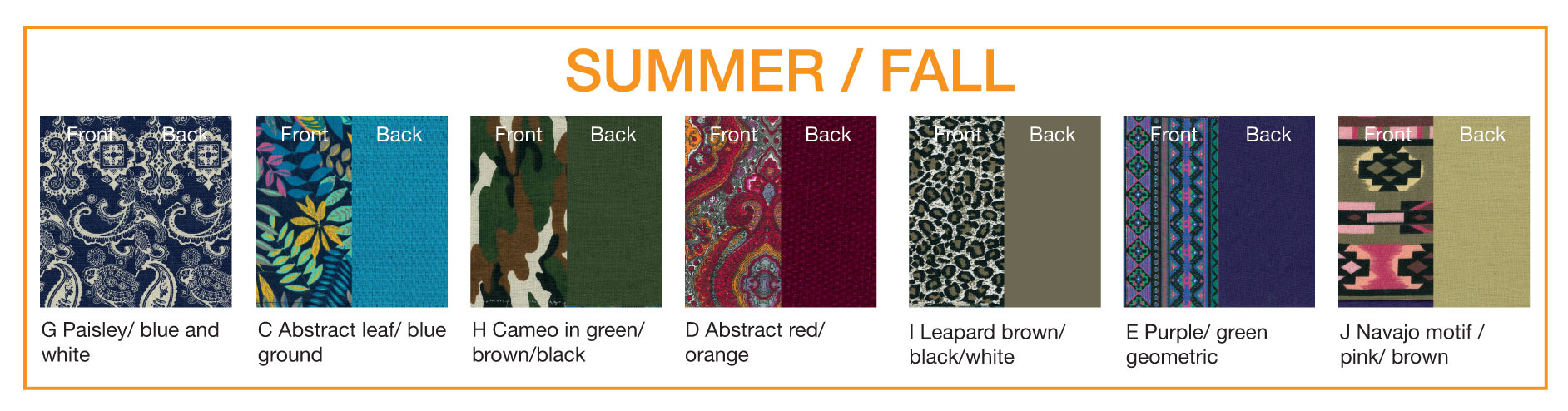 KuddleKrew Outer Cover Summer-Fall Patterns